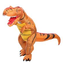 цены Halloween Adult T-rex Trex inflatable Dinosaur Costume for Women Men Animal Cosplay Party Fantasia holiday jumpsuit miraculous