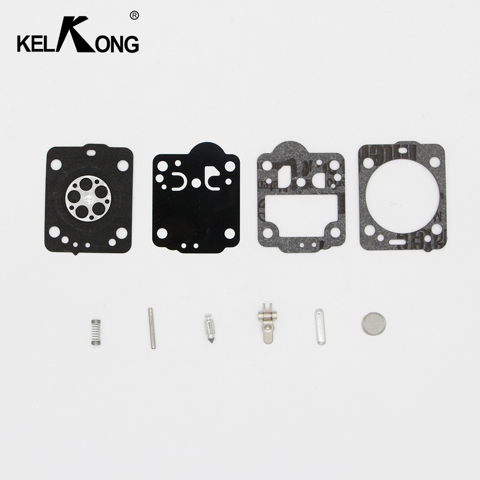 KELKONG Carburetor Rebuild Kit For Husqvarna Chainsaw 235 236 Gasket Diaphragm Repair For JONSERED CS2234 CS 2238 ZAMA Carb Kit kelkong carburetor rebuild kit for husqvarna chainsaw 235 236 gasket diaphragm repair for jonsered cs2234 cs 2238 zama carb kit