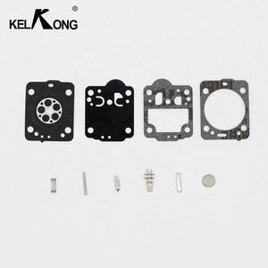 Image 1 - Kit di ricostruzione carburatore KELKONG per motosega Husqvarna 235 236 riparazione membrana guarnizione per JONSERED CS2234 CS 2238 ZAMA Carb Kit