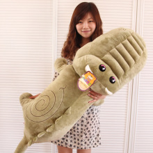 Pernycess 1.1 meters giant crocodile plush doll cute doll pillow big boy toys children's birthday presents free shipping