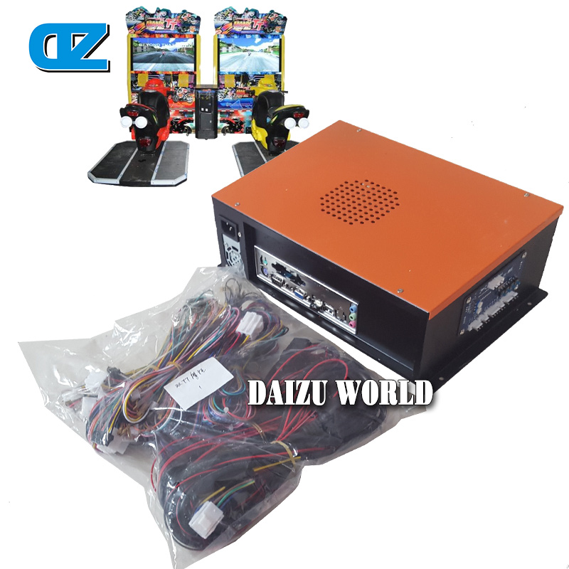Manx TT  Motor Racing Machine  Kits , Coin Operated Game Machine Equipments , Arcade Racing Games Spare Parts free shipping i o board for super bikes 2 kit ar racing game mchine parts coin operator arcade racing game amusement machine page 6