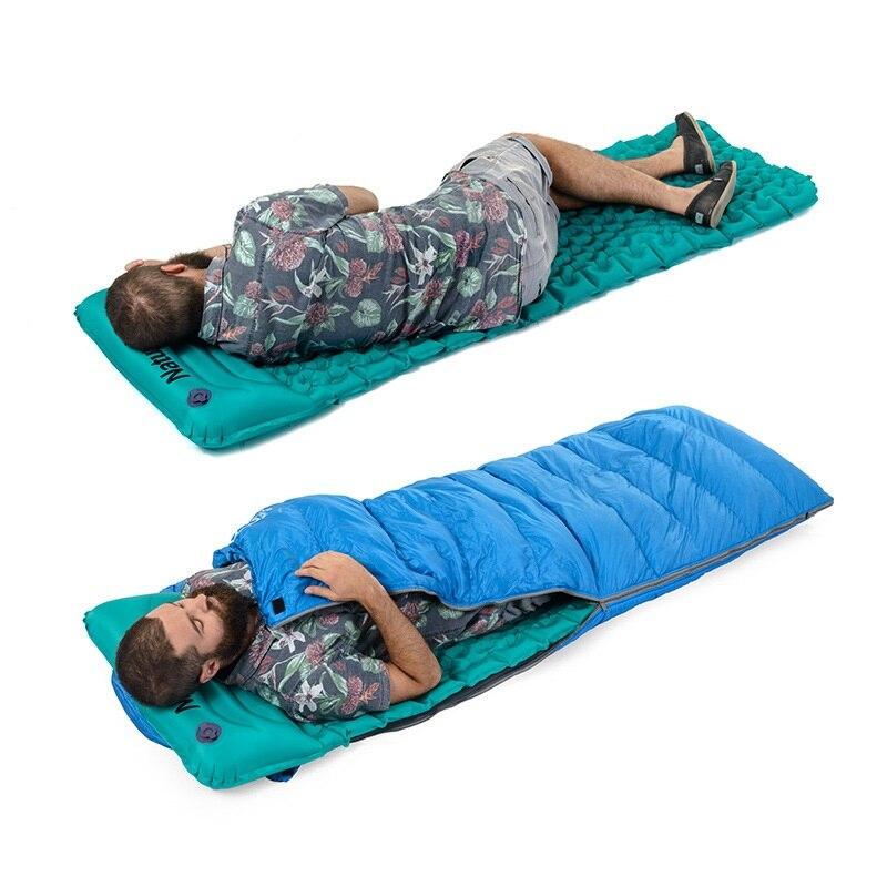 Coussin gonflable extérieur sac de couchage tapis de remplissage rapide Air étanche à l'humidité tapis de Camping avec oreiller voyage auto-conduite dormir