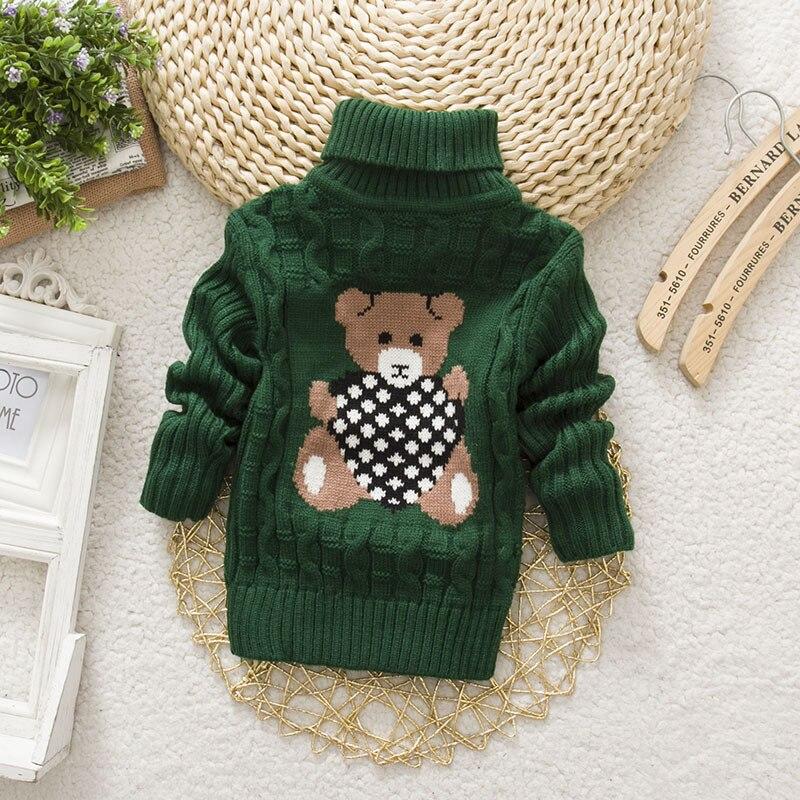 Sundae-Angel-Casual-Boy-Girl-Sweaters-For-Kids-Long-Sleeve-Wool-Turtleneck-Cartoon-Pattern-Spring-AutumnWinter-Girls-Sweater-2