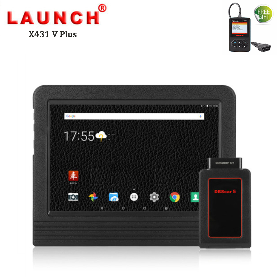 Lancement X431 V Plus De Voiture De Diagnostic Scanner Auto Diagnostic Diagnostic Complet Du Système Professionnel Outil D'analyse Universel PK Autel MS906