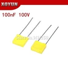 Correction Capacitor Plastic-Film 100V104J Safety 100NF 5mmpolypropylene 20PCS