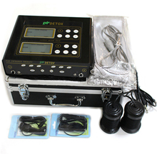 Double-user Detox Ionico Machine Massage Plasma Detoxification Detox Foot Bath Ion Cleanse Ionic Detox Foot Bath Aqua Cell Spa detox foot bath arrays round stainless steel array aqua spa foot massage relief