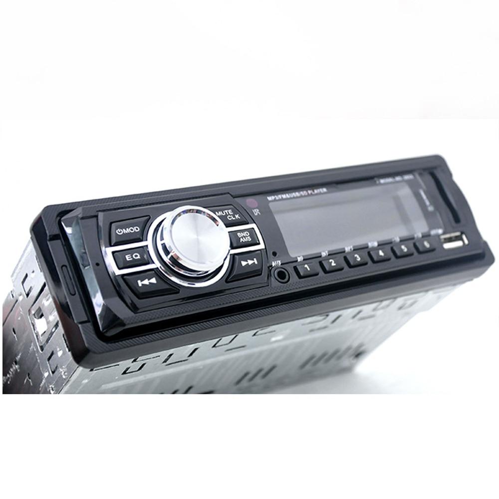 цена на 1Din Car Radio MP3 Stereo Bluetooth Player With Remote Control AUX-IN Audio Player USB SD Port Car Electronics Autoradio
