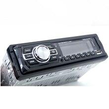 1Din автомобиля Радио MP3 стерео Bluetooth плеер с Дистанционное управление AUX-IN аудиоплеер USB SD Порты и разъёмы Электроника для автомобиля Авторадио