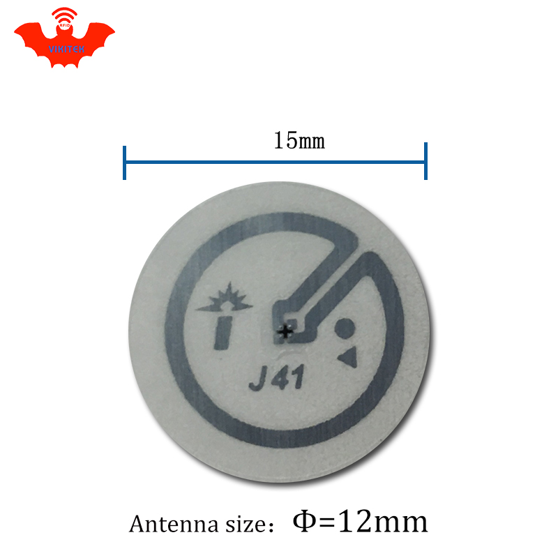 Image 5 - UHF RFID tag sticker Impinj J41 wet inlay EPC6C 915mhz868mhz860 960MHZ Higgs3 5000pcs freeshipping adhensive passive RFID label-in Access Control Cards from Security & Protection