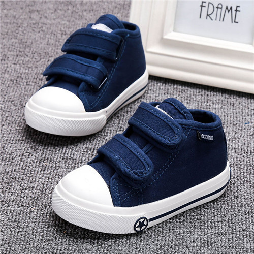 LABIXIAOXING Baby White Canvas Shoes 4