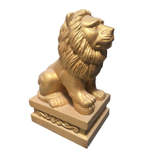 Free Shipping China Style Garden Outdoor Sculpture Decoration ABS Lion Mold With Concrete animal statue