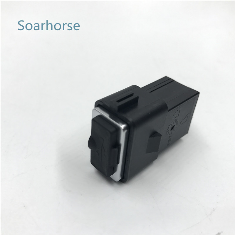 Soarhorse Car USB Slot Interface socket USB Cable Adapter For Volvo S80L S60 XC60 S40 C30