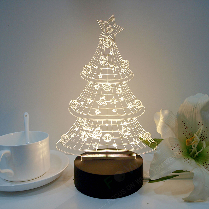 3d christmas tree table lamp art doc cherry blossom tree light 3d christmas tree table lamp art doc cherry blossom tree light cristmas kids room lamp holiday night light fantastic gift abajur in table lamps from lights aloadofball Image collections