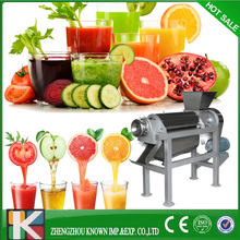 High juce rate 65% pear juice Screw extractor/spiral fruit juicer/spiral juicing machine for fruit &vegetable