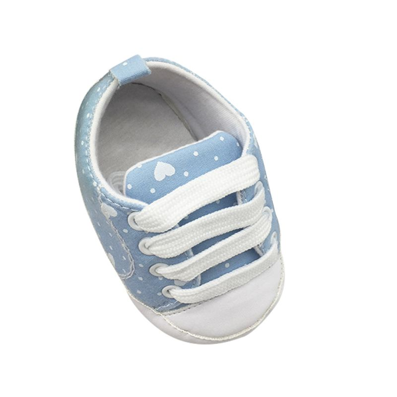 Kids Infant Baby Boys Arrival Soled Crib New Shoes Laces Cotton Girls Prewalkers Soft Baby Shoes Mother & Kids