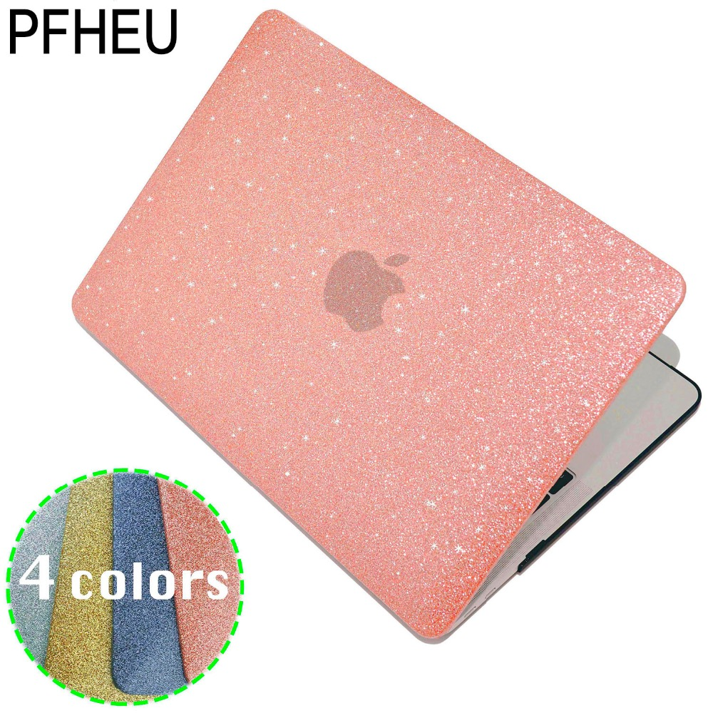 Hot! Shine Glitter Hard Laptop Case For MacBook Pro Retina Air 11 12 13 15,for mac Air 13,New Pro 13 15 inch A1706 A1708 A1707. wenger stonehide w16 04