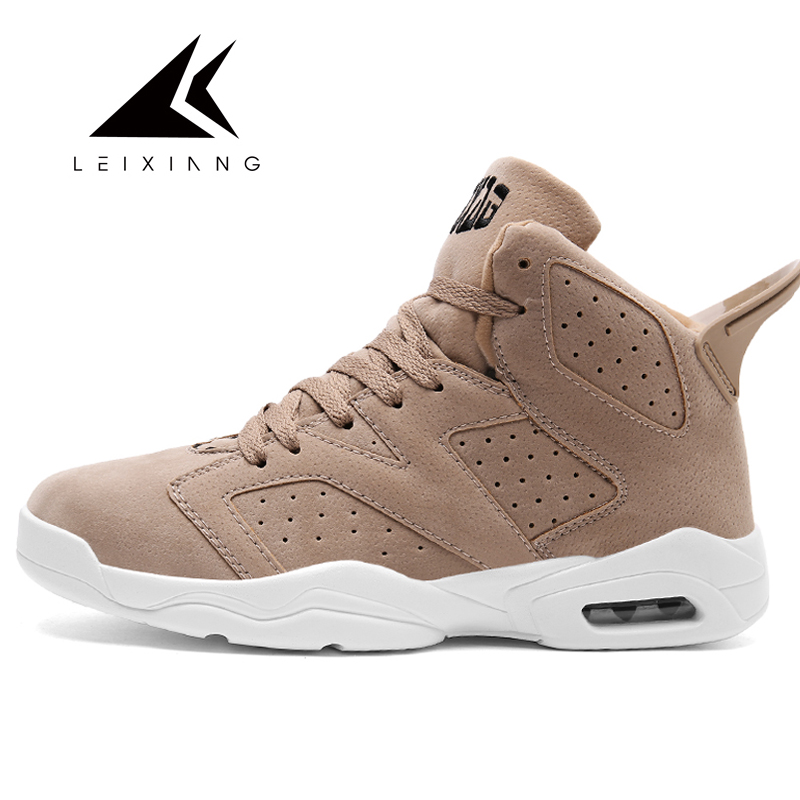 Leixiang Men's Basketball Sneakers High Top Breathable Male Sports Trainers Basket Homme 2017 Men Outdoor Baketball Shoes image