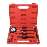 Fuel Injection Pump Pressure Tester Injector Test Pressure Gauge Set W Case Auto Diagnostics Tools For