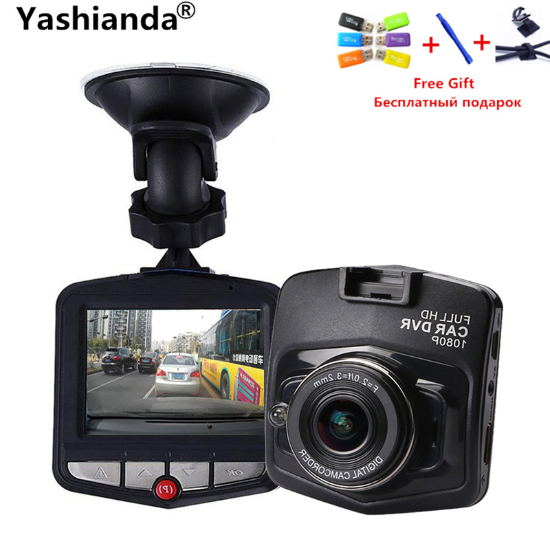 Yashianda Original Mini Car DVR Camera Dash Cam 2.4 Inch Full HD 1080P Recorder Video Registrar Tachograph Night Vision
