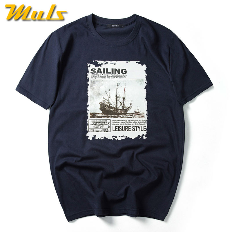 Large size men short t shirt summer quick dry cotton brand for Quick print t shirts