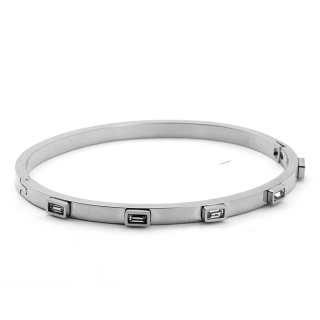 Stainless Steel Open Cuff...