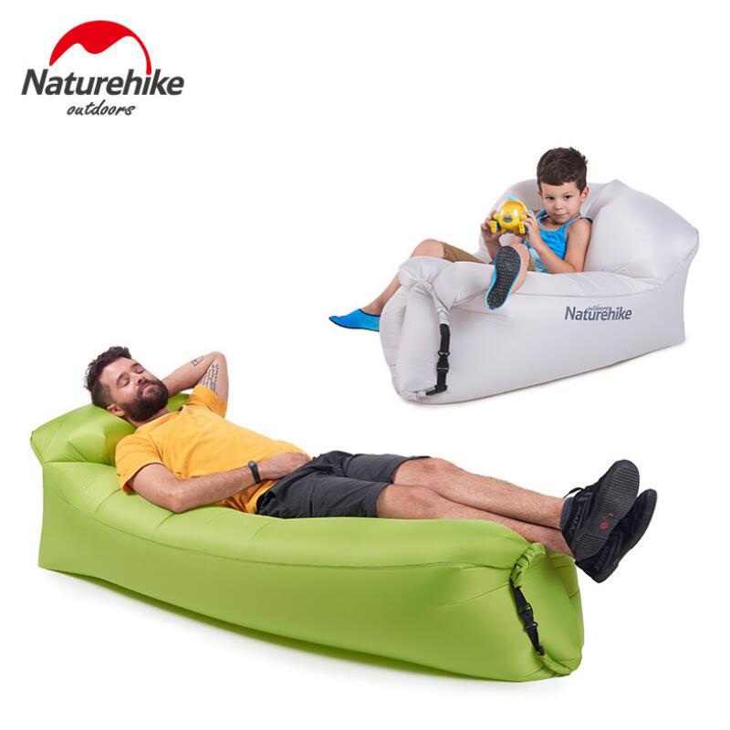 Naturehike Inflatable Sofa Air Bed Lazy Bag Ultralight Portable Air Sofa For Tourism Outdoor Camping Beach