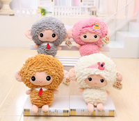 Cute 1pc 38cm Cartoon Baby Sheep Toy Annie Sheep Children S Birthday Gift