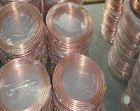 1M Diameter 12mm*1.5mm TPm2 Red copper pipe,air condition Copper tube,DIY laptop heat pipe/Notebook thermal pipe