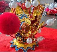 Sun Wukong Head Wear Sun Wukong Cosplay Drama Head Accessories Opera Head Wear Funny Hero Avvessory
