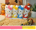 Fashion 3D Soft Silicon hellokitty Case Cute Bowknot Hello kitty Rubber Protective Back Cover For iPhone 4 4s 4G 5 5s 5G