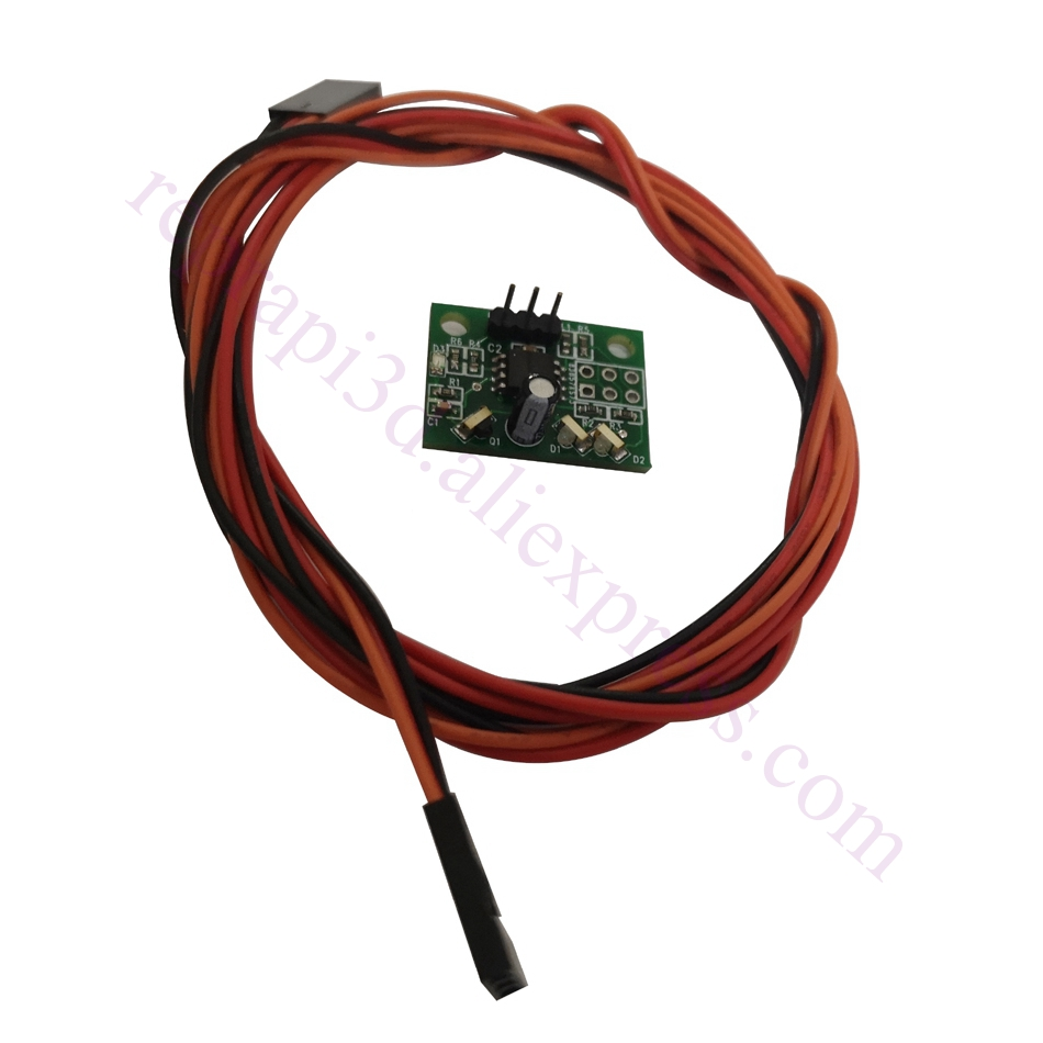 Mini differential IR height sensor V1.2 for BLV 3d printer auto leveling & Duet WiFi DUET Exthernet Electronics, Duet Shield image