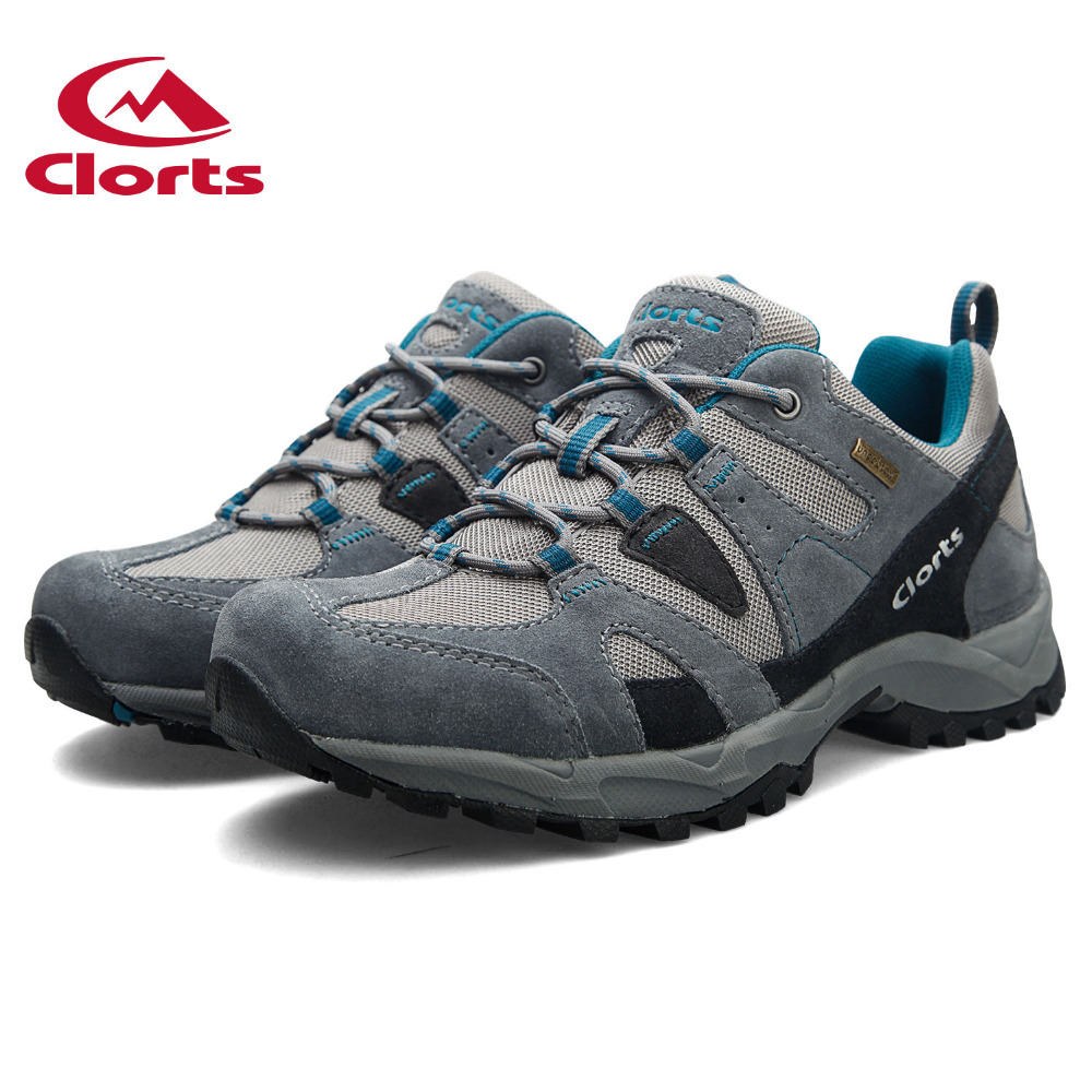 Clorts outdoor Men's Low Cut Cow Suede Hiking Shoes Breathable Non-slip wear-resistant damping Trekking camping Sport Sneakers peak sport authent men basketball shoes wear resistant non slip athletic sneakers medium cut breathable outdoor ankle boots