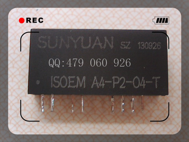 [ZOB] Isolation Amplifier ISOEM A4-P2-O4-T Magnetoelectric Isolation Gain Adjustable 4-20mA 0-5V  --2PCS/LOT