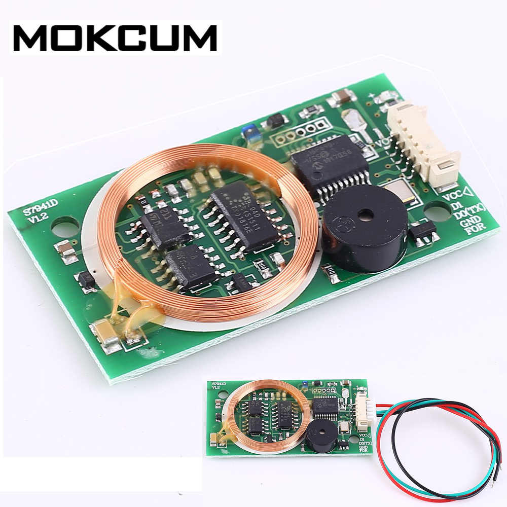 5V Dual Frequency Reader RFID Wireless Module UART 13.56MHz 125KHz ISO14443A for IC//ID//Mifare Card