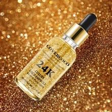 24K Gold Face Serum Firming Moisturizing Face Essence Anti-Wrinkle Anti-Aging Mo