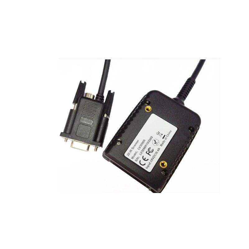 Free shipping LV3096R Rakinda RS232 2D CMOS fixed mount font b barcode b font font b