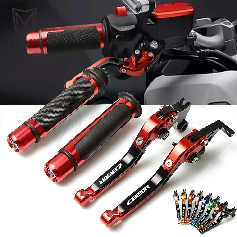 Motorcycle CNC Brake Clutch Lever Handle Grips Clutch Lever Handlebars Set For Honda CB190R CB 190R