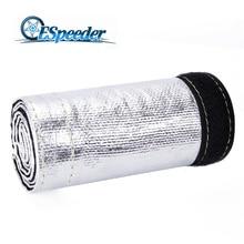 Espeeder Универсальный 1.25 ''тепла металлические щит Термальность рукава изоляцией Провода шланг крышка Плащаница