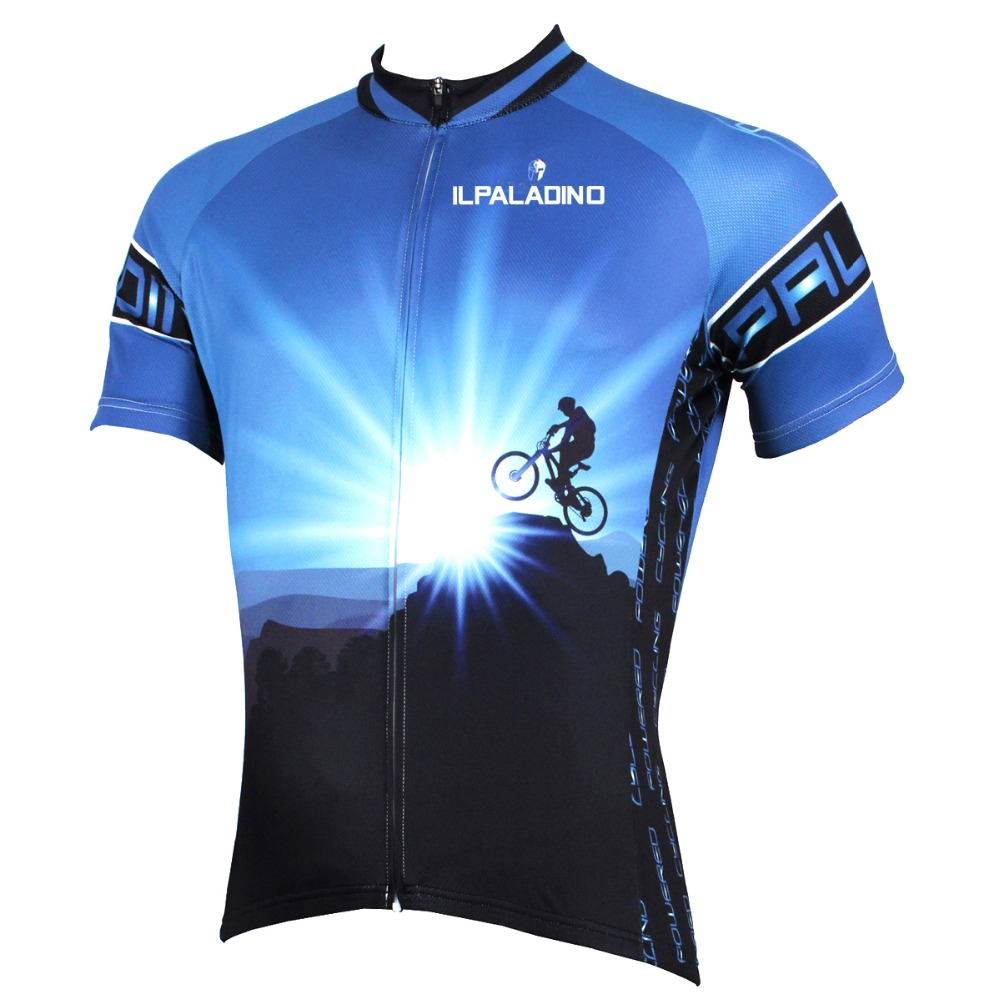 ILPALADINO Bike Jersey Shirt Cycling Clothing Short-Sleeve Ciclismo Maillot Racing Summer
