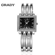 Грейди марка женщины платье женские часы мода браслет стиль бесплатная доставка кварцевые часы relogio feminino