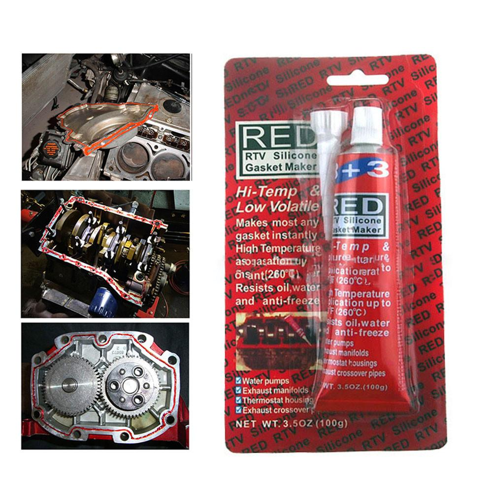 100G Automobile Engine High Temperature Resistant Sealant Water Resistance Oil ResistanceAutomobile And Motorcycle Sealant in Cyl Head Valve Cover Gasket from Automobiles Motorcycles