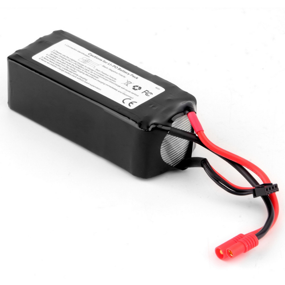 Wholesale 1pcs Original RC Lipo Battery 11.1V 5200Mah 3S2P 20C For Walkera QR X350 PRO RC Drone Quad-copter Helicopter original walkera devo f12e fpv 12ch rc transimitter 5 8g 32ch telemetry with lcd screen for walkera tali h500 muticopter drone