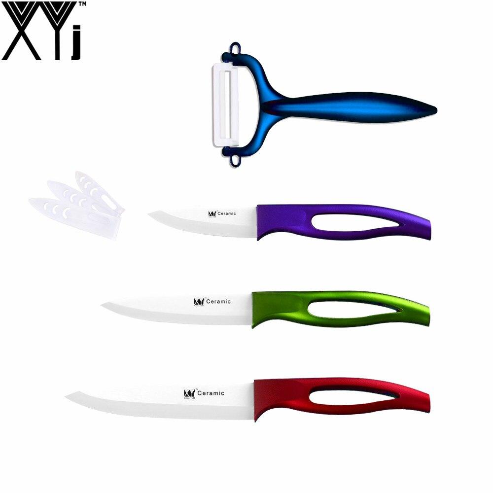 xyj marca multi colore 3 4 5 pollice coltelli un peeler migliore professionale