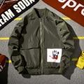 Aolamegs Bomber Jackets Men Fashion Flight Pilot Jacket Couples Black Army Green Baseball Clothing  Zipper Outwear Plus Size 5XL