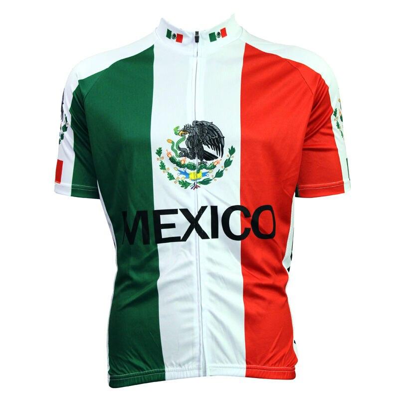 New Bike jerseys Cycling Mens Cycling Jersey Bike Mexico Stripes-in Cycling  Jerseys from Sports   Entertainment on Aliexpress.com  9f7ba26b0
