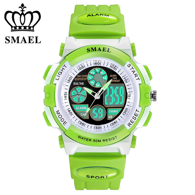 Children Digital Watches Dive 50M Water Resistant Wrist watches for women Childr