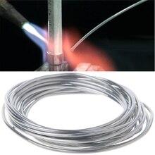 New Arrival 2.00mm*300cm Copper aluminum cored wire Low Temperature Aluminium Welding Rod Wholesale Support