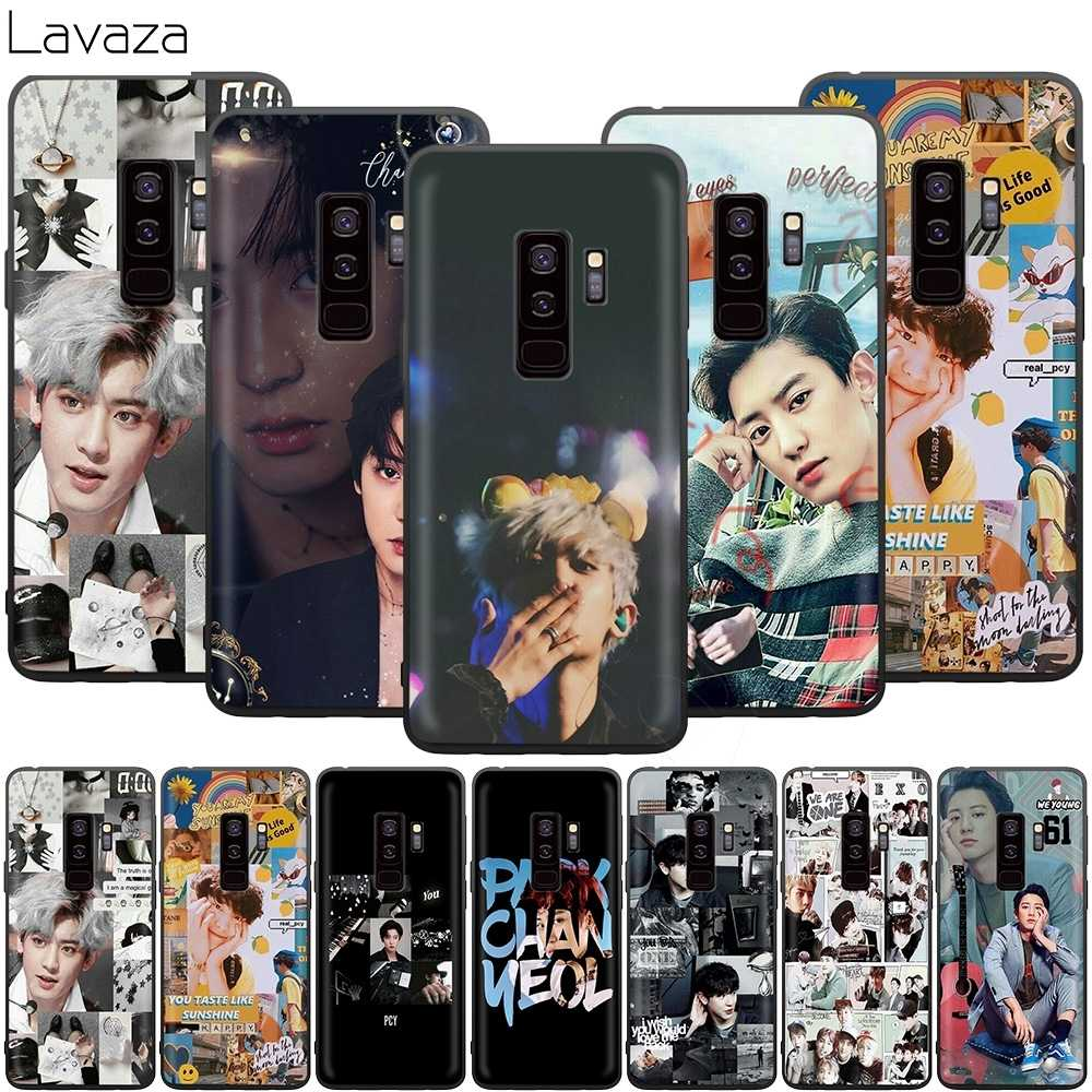 Lavaza Exo Chanyeol Case for Samsung Galaxy J6 A9 A8 A7 A70 A6 A5 A50 A40 A30 A3 A10 2018