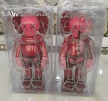 Edition Red 11 Inch Originalfake KAWS Dissected Companion Open Edition Art Fashion Toy Original Fake With Retail Box Decoration