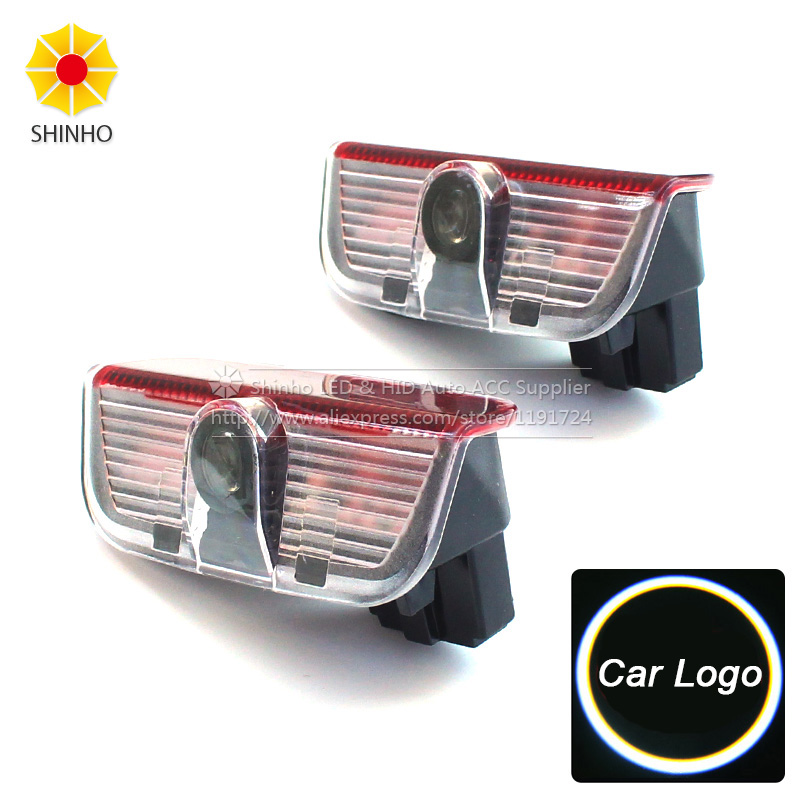 Car Courtesy ghost shadow welcome Laser logo projector door light For Porsche Cayenne 958 911 Boxster CARRERA4 MACAN S3 S4